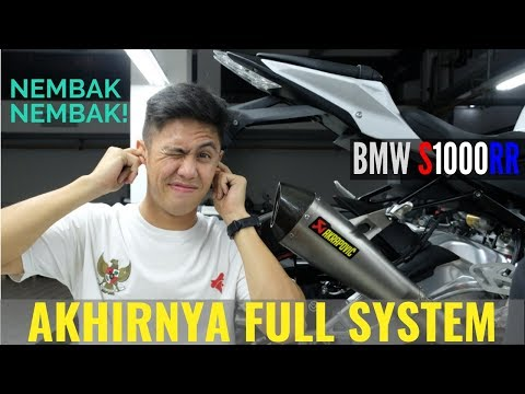 Pasang Full System Akrapovic Evolution Line Di BMW S1000RR ⎜Unboxing & First Sound Check