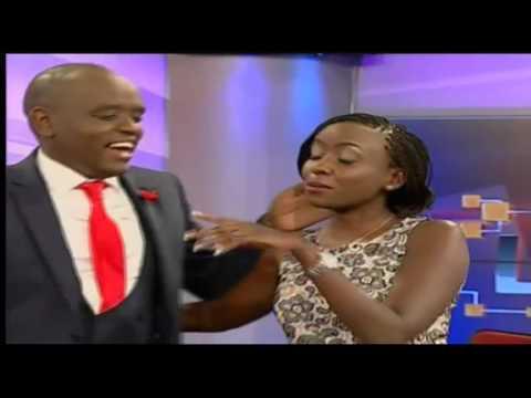 Dennis Itumbi surprises Jacque Maribe on live at 1