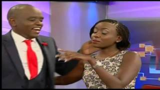 Dennis Itumbi surprises Jacque Maribe on live at 1