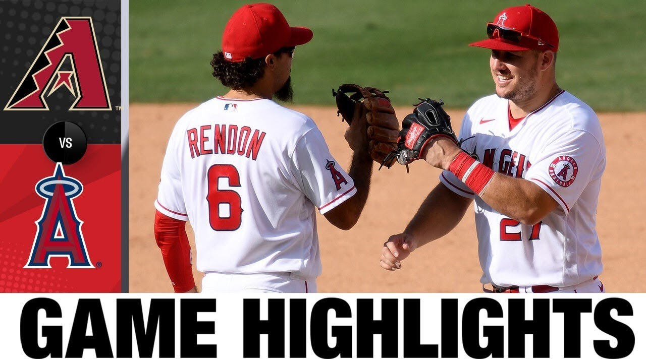 Anthony Rendon crushes a two-run HR in Angels' win | D-backs-Angels Game Highlights 9/17/20