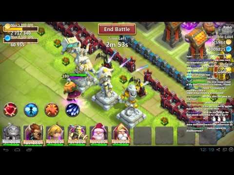 Castle Clash Livestream With Aevatrex