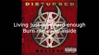 Disturbed - Prayer Lyrics (HD)