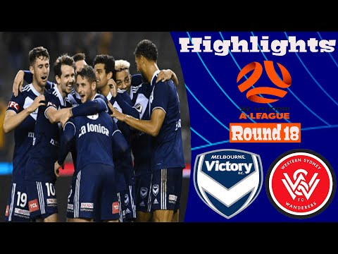 Melbourne Victory Western Sydney Wanderers Goals And Highlights