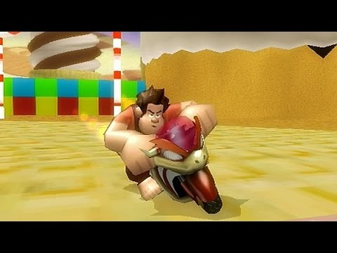 wreck it ralph on mario kart wii texture hack for funky