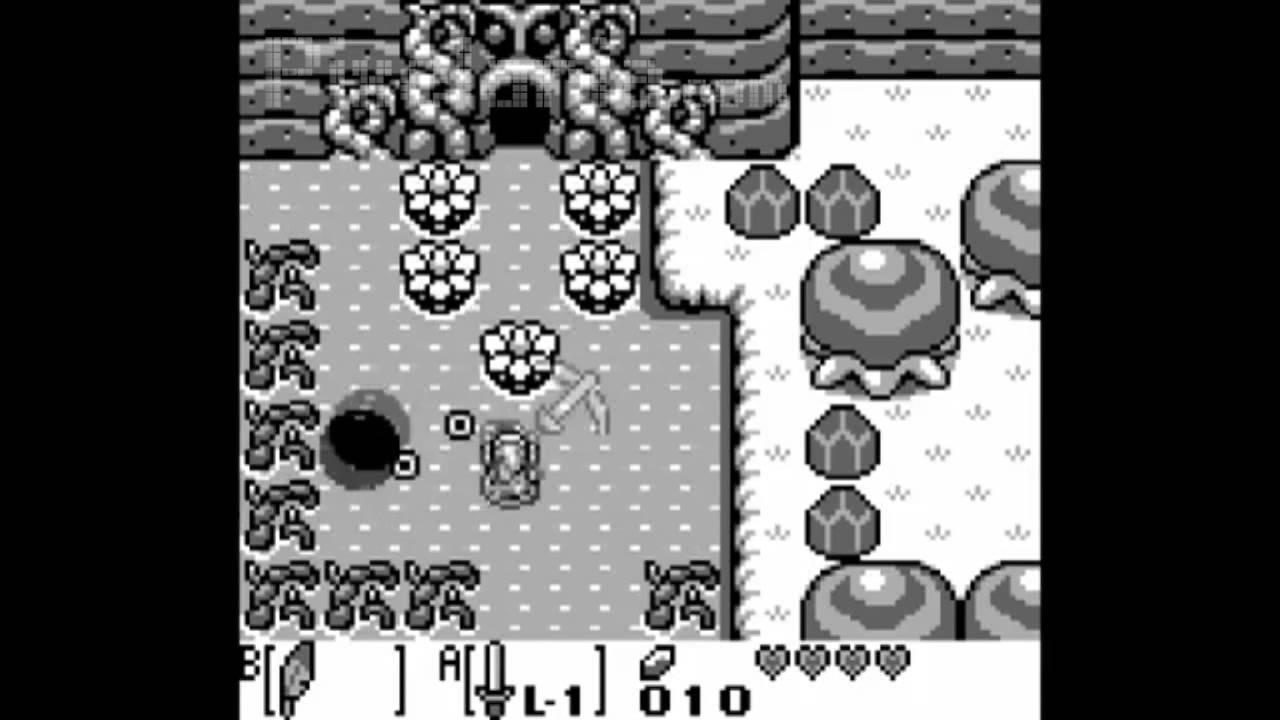 Retro The Legend Of Zelda Link S Awakening 1993