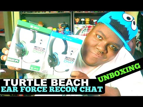 TURTLE BEACH EAR FORCE RECON CHAT  PS4/XBOX ONE - (Unboxing)