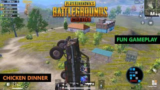 PUBG MOBILE | FUN GAMEPLAY WITH AMAZING CHICKEN DINNER
