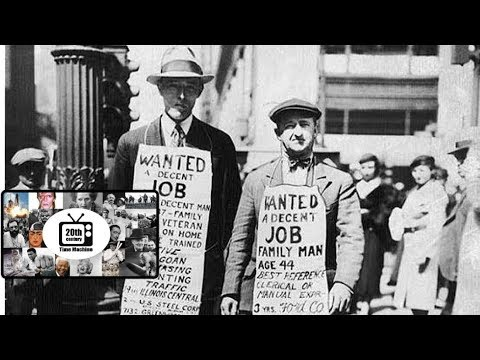 Life in the 30s - The Great Depression - Overproduction Crisis