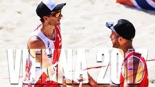 FIVB Beach Volley World Champs  Vienna 2017 • Seidl - Winter (AUT) v Kundert - Dressler (AUT)