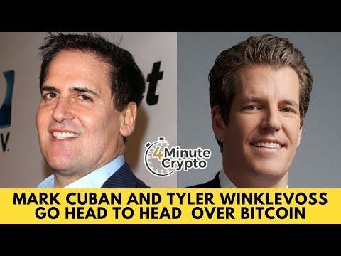 Mark Cuban And Tyler Winklevoss Go Head To Head  Over Bitcoin