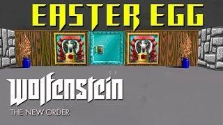 Wolfenstein The New Order EASTER EGG - Secret Wolfenstein 3D Level