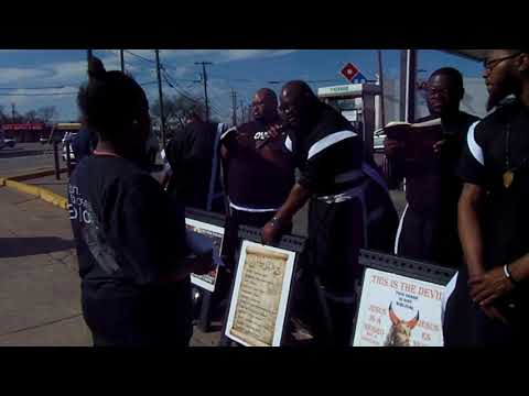 Sister in the hood in South Dallas learn what Sin is