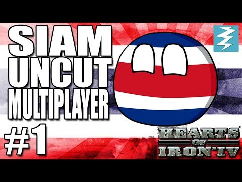 SIAM JOINS THE AXIS [1] Siam Multiplayer - Hearts of Iron IV HOI4 Paradox Interactive