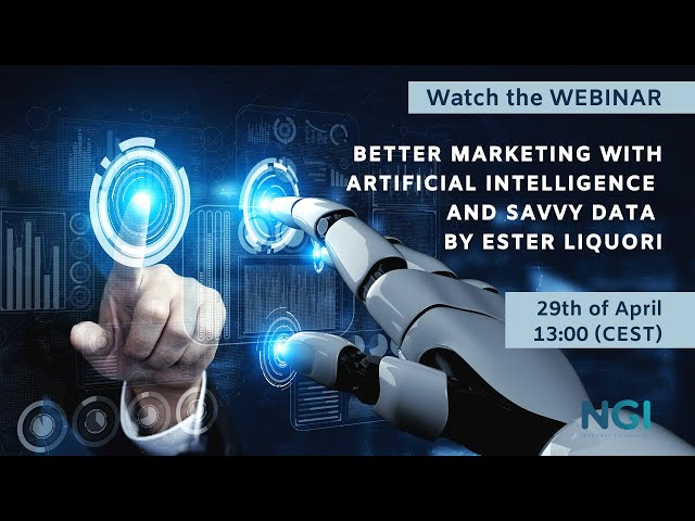 Better marketing with artificial intelligence and savvy data by Ester Liquori