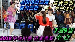 💗버드리💗 7월9일 주간 2018 부여 서동 연꽃축제 초청공연