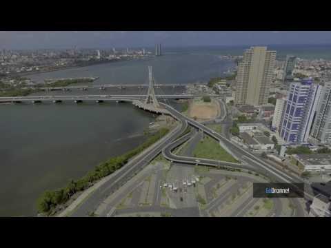 Imagens aéreas Riomar Trade center  | Via Mangue | Cabanga