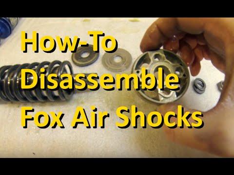 Fox Shox 2 0 air shocks disassembly