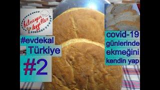 #Evdekal Ekmeğini Kendin Yap Türkiye - Bayatlamayan Somon Tarifi - Bitmeyen Lezzetler