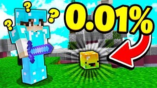 So we discovered the RAREST GLITCH in Minecraft Skywars...