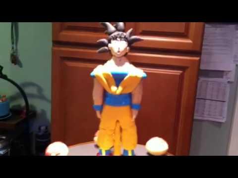 Dragon ball z pastel youtube for Cuartos decorados de dragon ball z