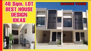 House Tour How To Build A House In A 46 Sqm Lot Area Best House Design Ideas Turnberryplace Youtube