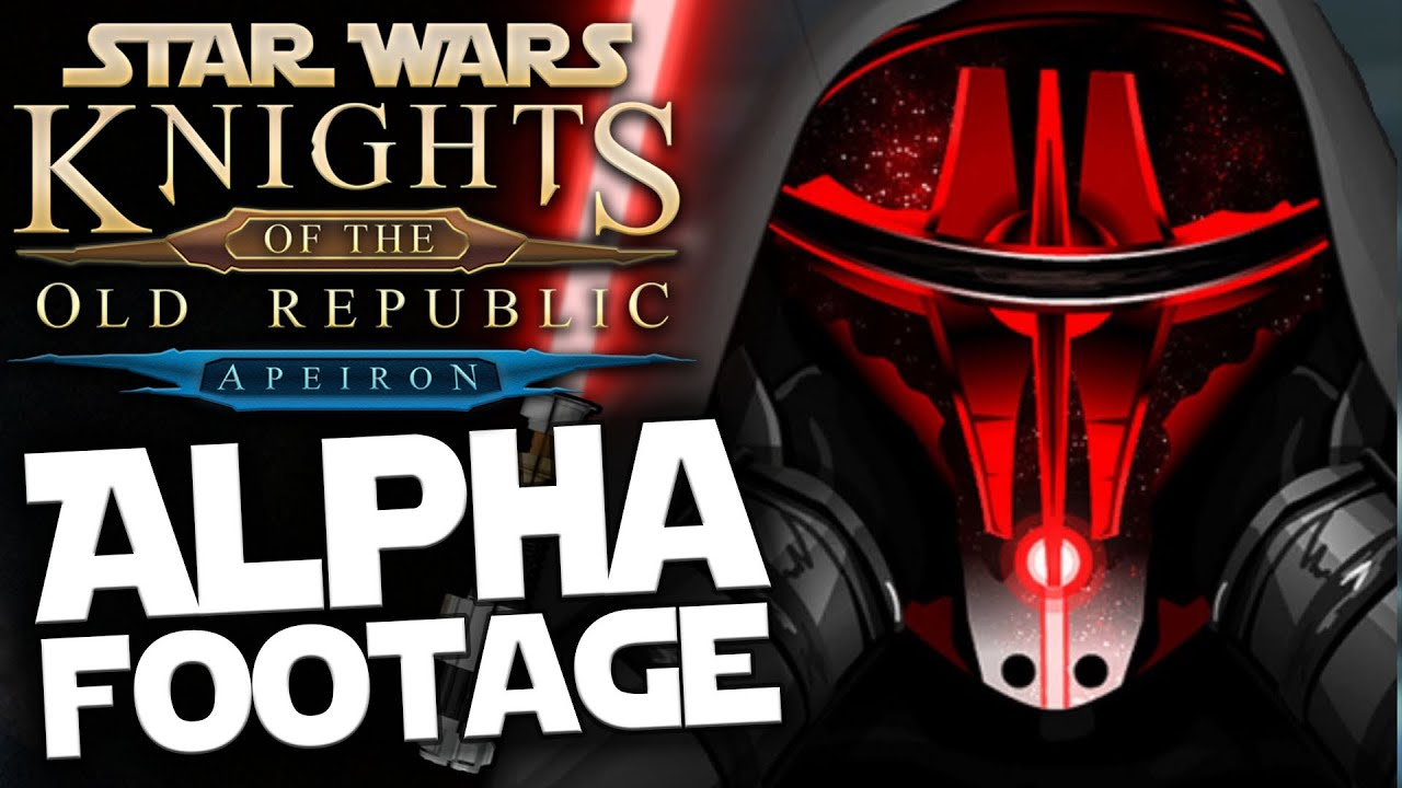 KOTOR Apeiron HD Remake: Pre Alpha Footage - Star Wars Knights of The Old  Republic [Dash Star]