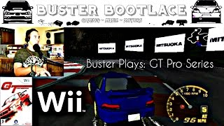 Buster Plays: GT Pro Series on the Wii