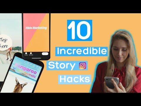 10 incredible Instagram Story Hacks