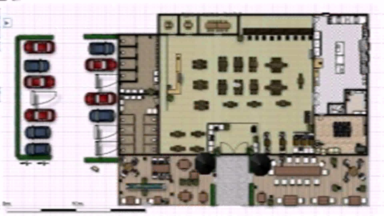 Restaurant Floor Plans With Dimensions YouTube