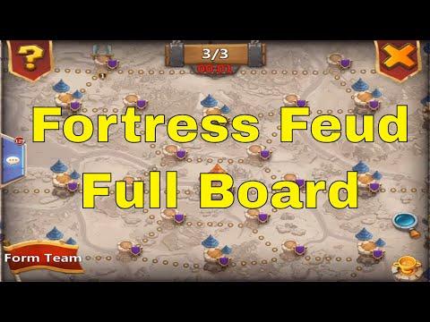Fortress Feud Taking The Full Board