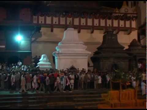 Nepal Girija prashad Koirala funeral.wmv