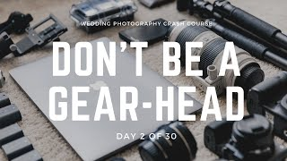 Wedding Photography - What Gear Do I Need?