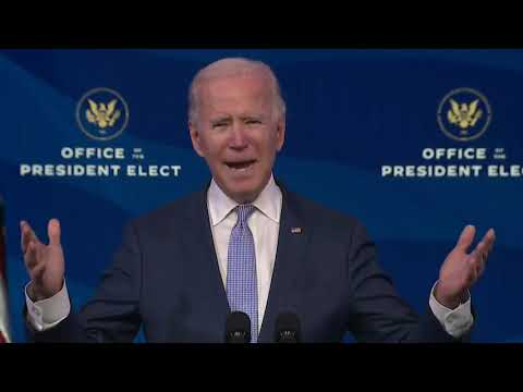 President-Elect-Joe-Biden-Addresses-Riot-at-U.S.-Capitol