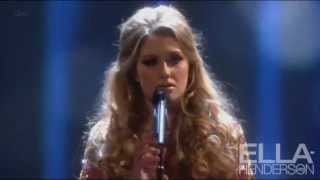 "Ella Henderson performs ""Believe"" at the National Television Awards 2013 (23rd January)"