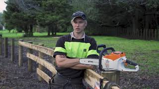 Product Review STIHL MSA 220 Battery Electric Chainsaw