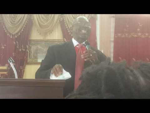 Bishop Douglas Jackson : You've been served with a search warrant- Psalms 139 vs. 1