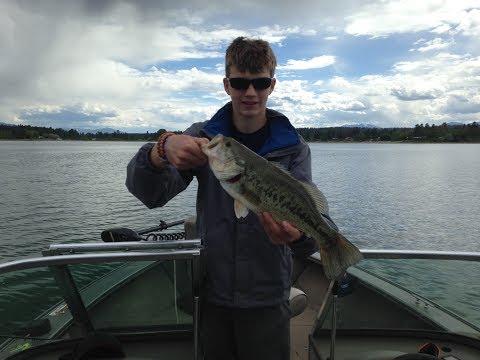 Wasa Lake BC Bass Fishing