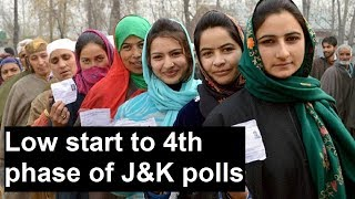 Low start to fourth phase of polling in J&K; Srinagar reports 0.4% voter turnout till 8am