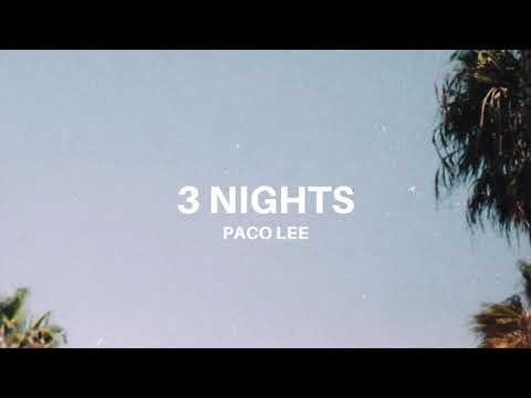 """""""3 Nights"""" – Dominic Fike Type Beats 2020 – https://thepacolee.com"""