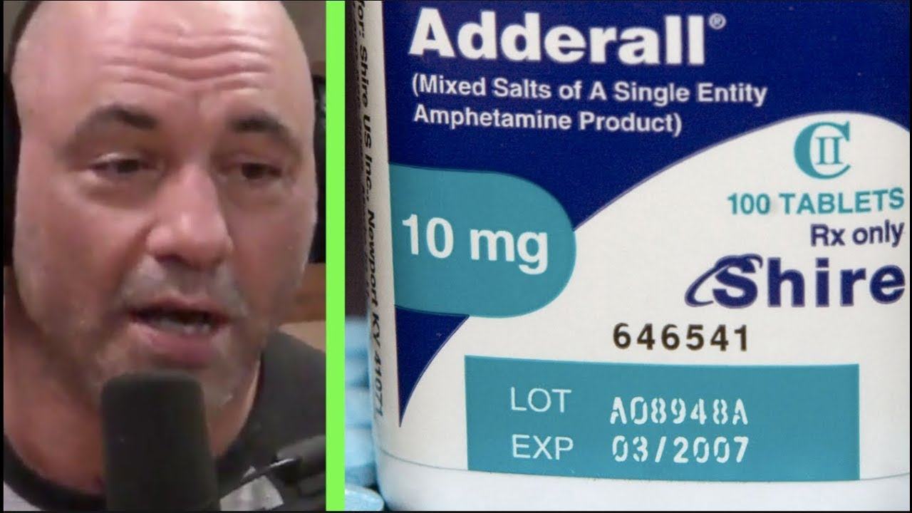 """Download Joe Rogan on Adderall, """"People Are Doing Speed!"""""""