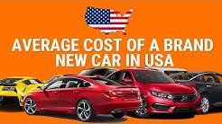 average cost of a brand new car in america