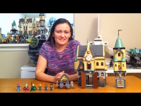 LEGO Harry Potter 4757 Hogwarts Prisoner Of Azkaban 2004 Castle Review - BrickQueen