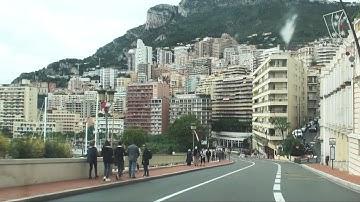 Monte Carlo, Monaco - camera on board