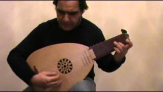 Jacques de Gallot - L' espagnolette - Passagallie - renaissance lute.