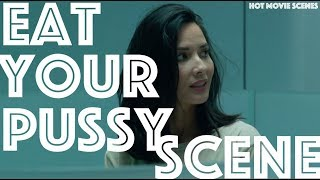 Olivia Munn Eat your Pus*y Scene From The Predators 2018
