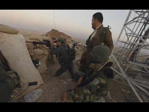 Battle for Mosul: On the front line near Nawaran, Iraq