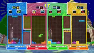 Puyo Puyo Tetris: Xbox One gameplay (Japanese)