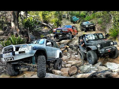 4x4 Challenge @ The Waterfall Track #7 - Menai