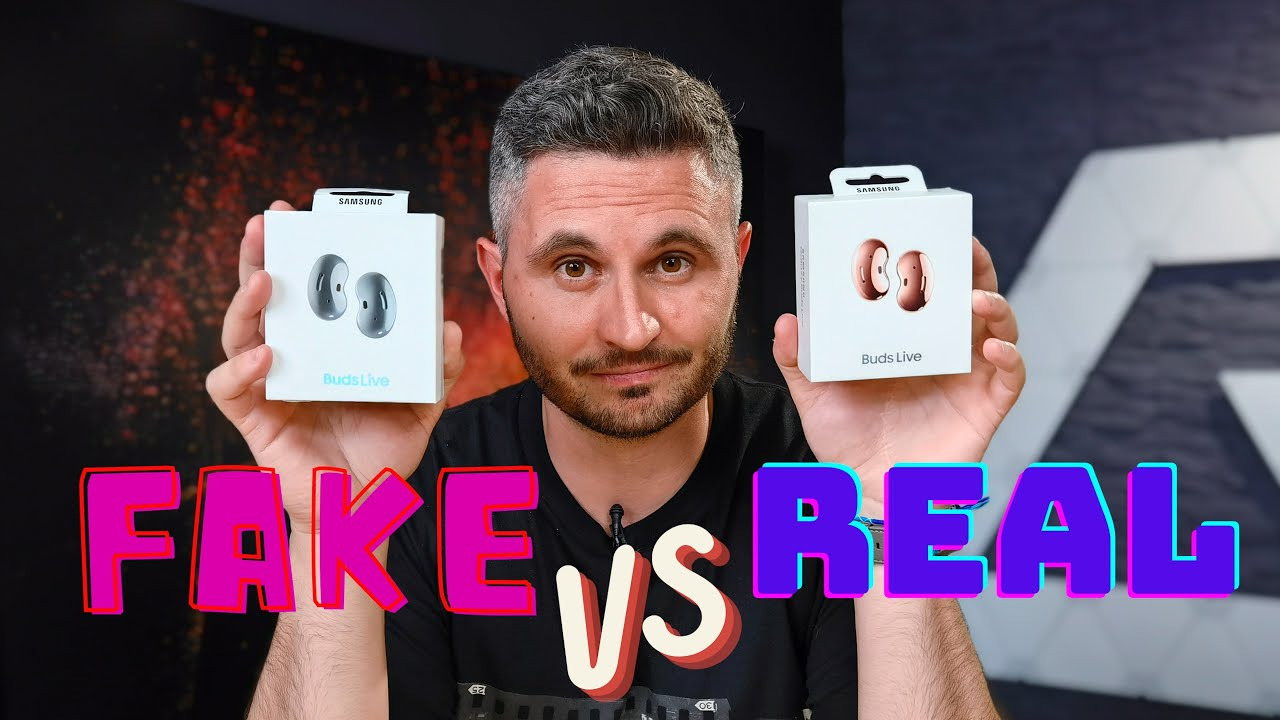 FAKE vs REAL - Samsung Galaxy Buds Live - Cavaleria.ro