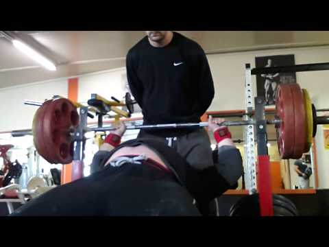157.5kg Bench Press Personal Best